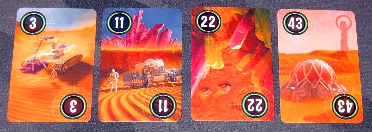 Mining Colony excavation cards