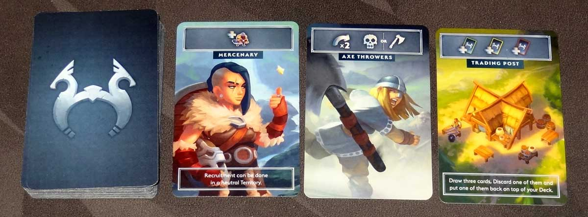 Northgard: Uncharted Lands common cards