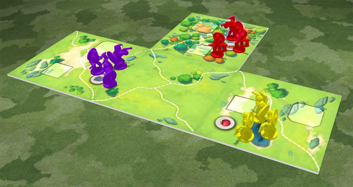 Northgard: Uncharted Lands map setup