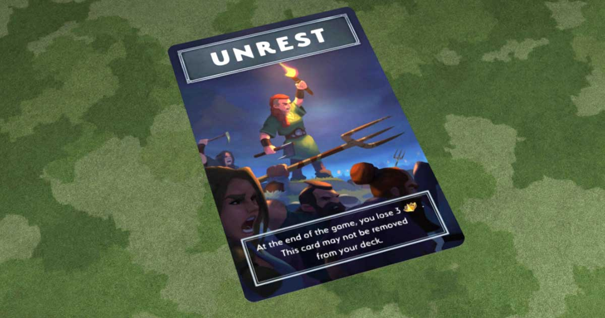 Northgard: Uncharted Lands unrest card