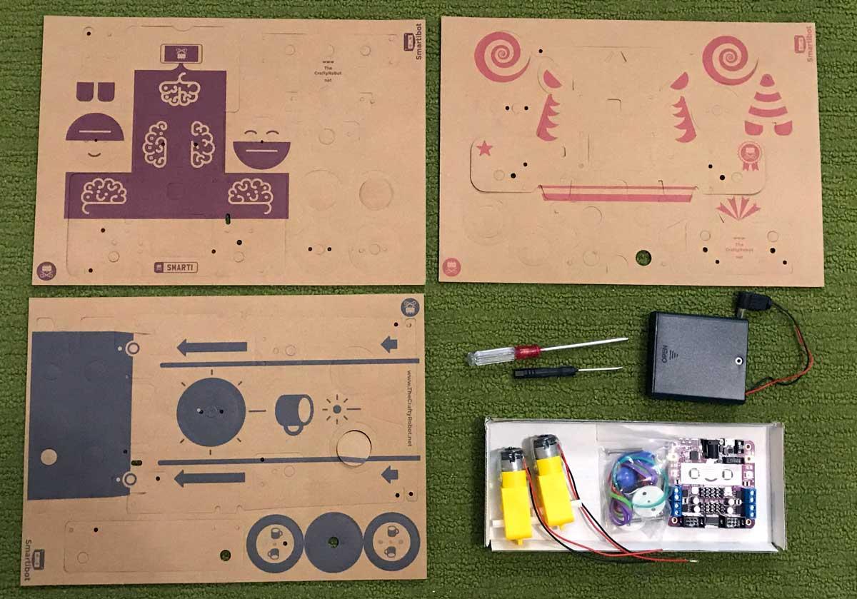 Smartibot kit components