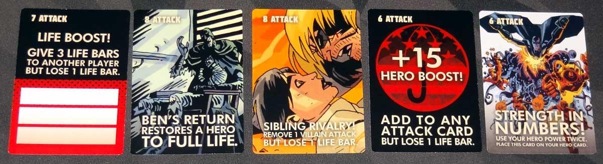 The Umbrella Academy Card Game story cards