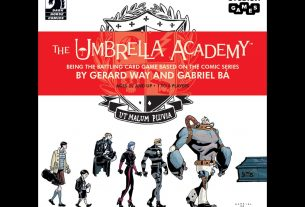 The Umbrella Academy Card Game cover