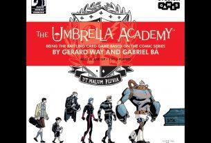 The Umbrella Academy Card Game cover