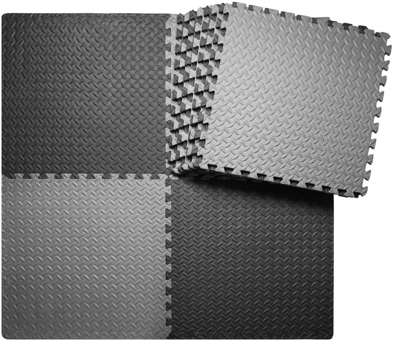 Box Of 12 Interlocking Foam Floor Files