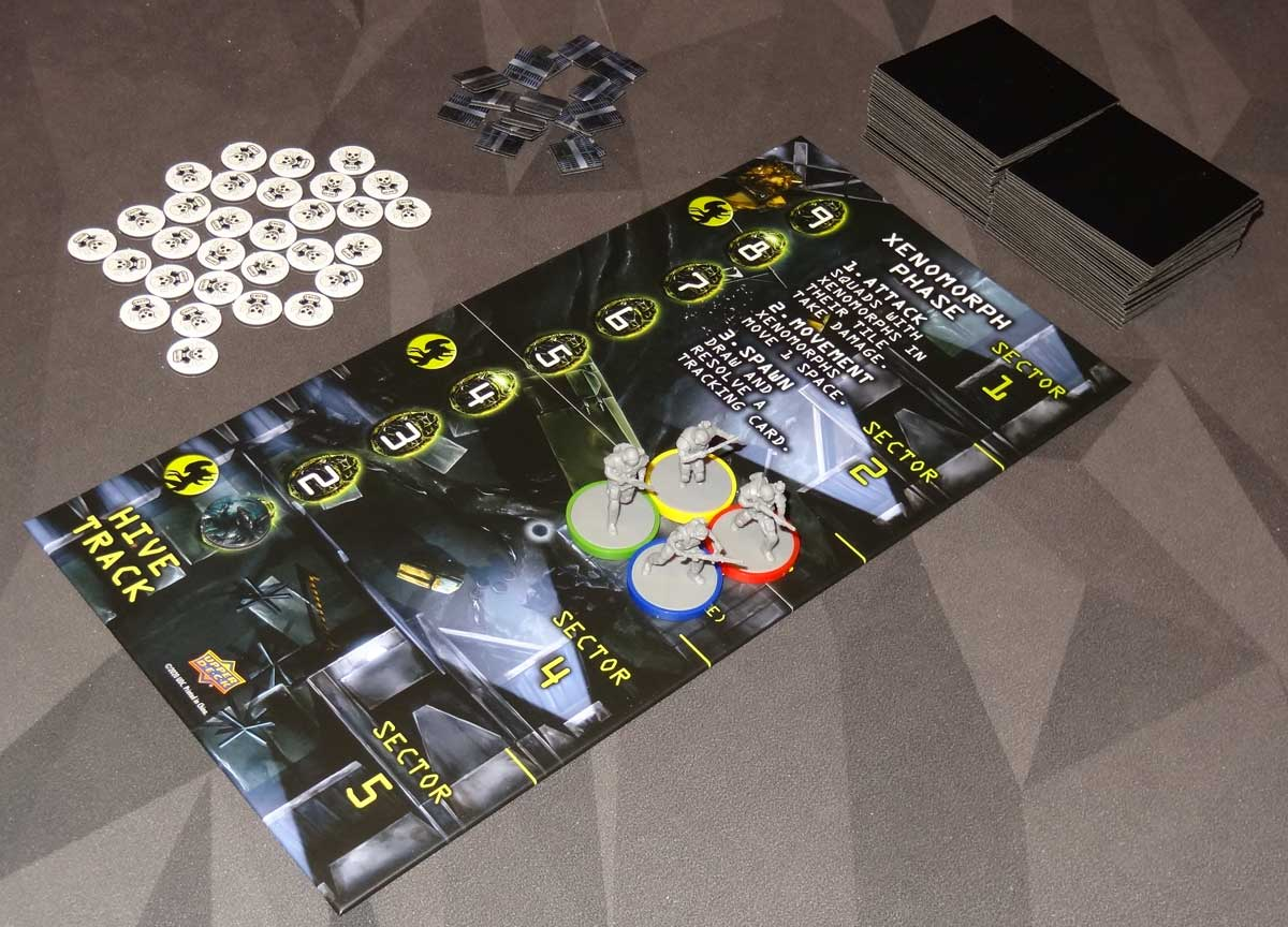 Aliens: Bug Hunt APC setup