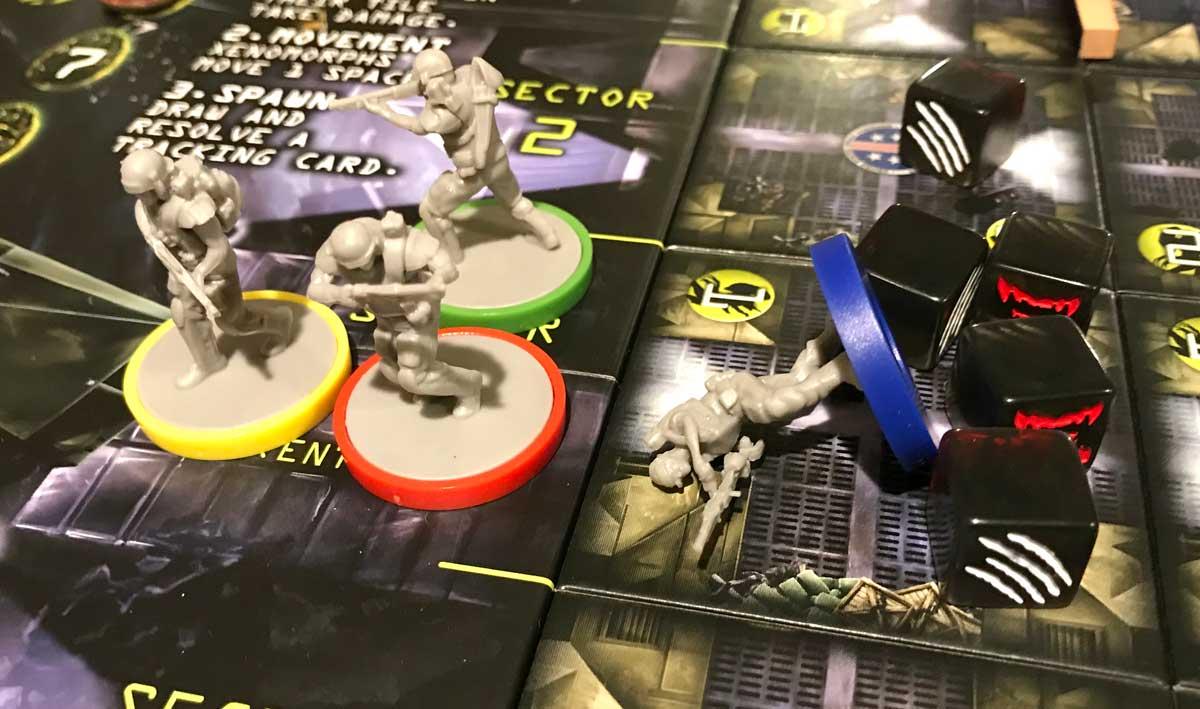 Aliens: Bug Hunt defeated