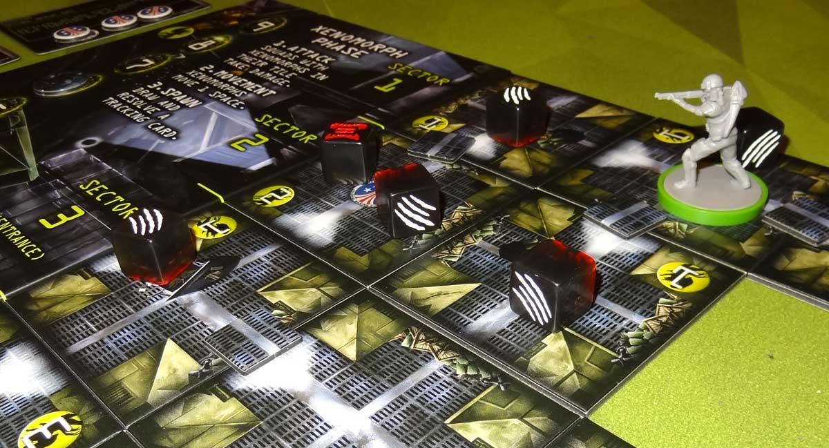 Aliens: Bug Hunt marine near entrance