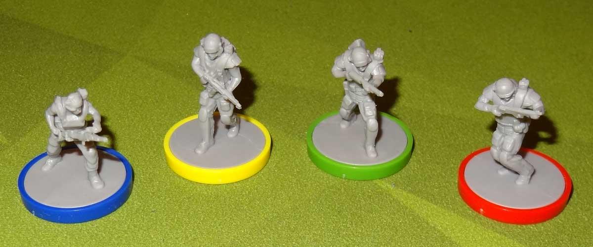 Aliens: Bug Hunt miniatures