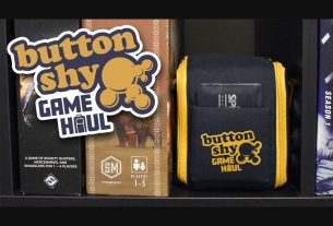 Button Shy Game Haul bag