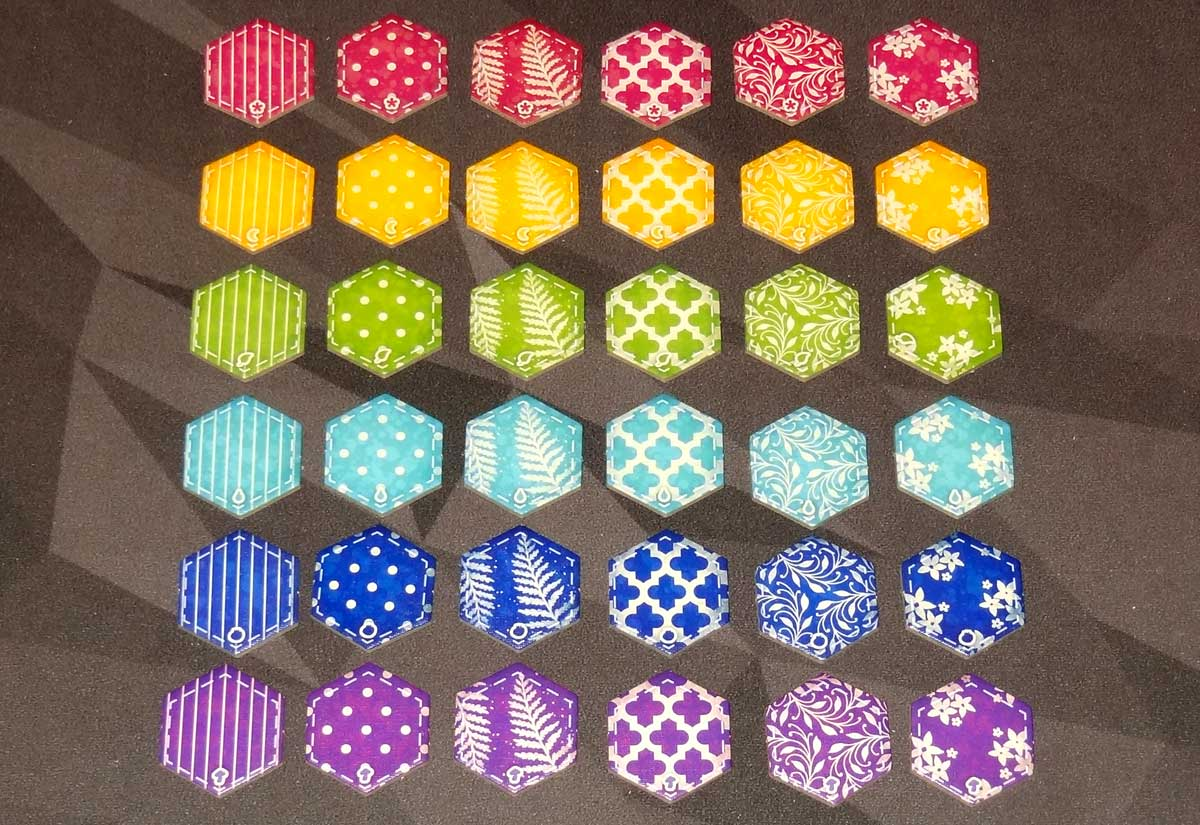 Calico patch tiles