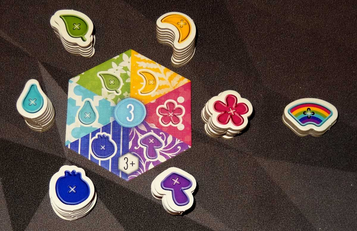 Calico button tokens and tile