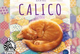 Calico box cover