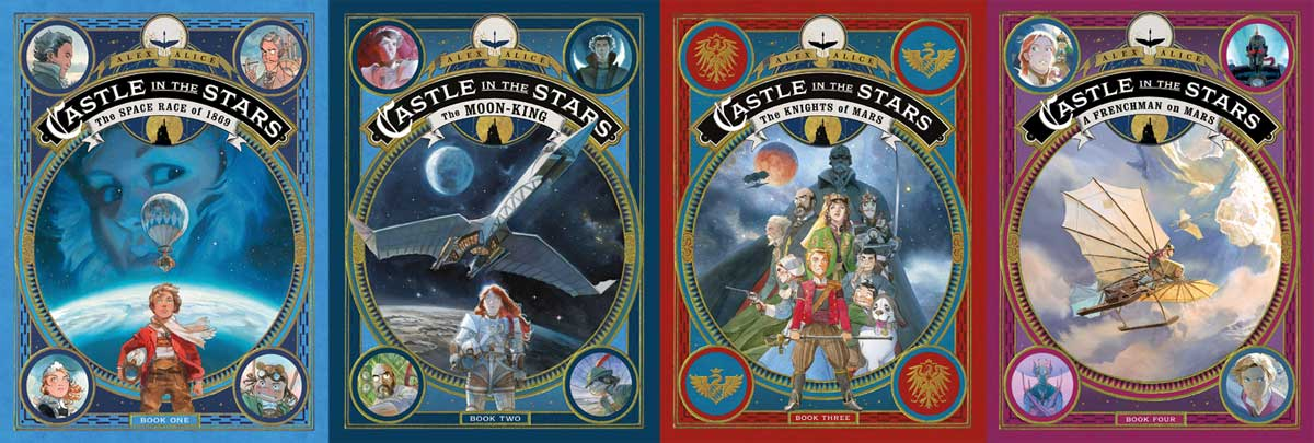 Castle in the Stars books 1-4