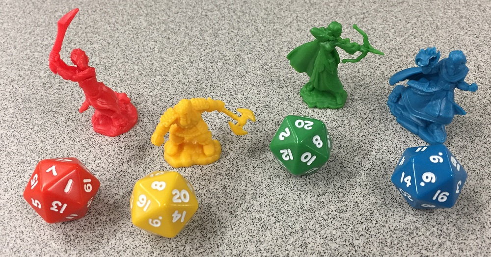 figures and dice