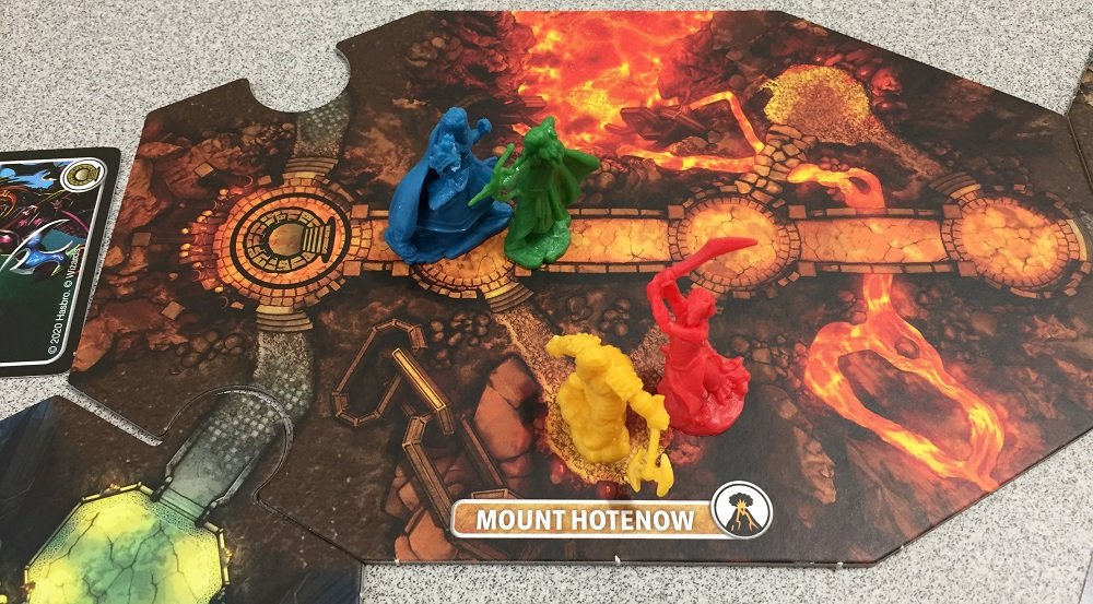 heroes on a dungeon board