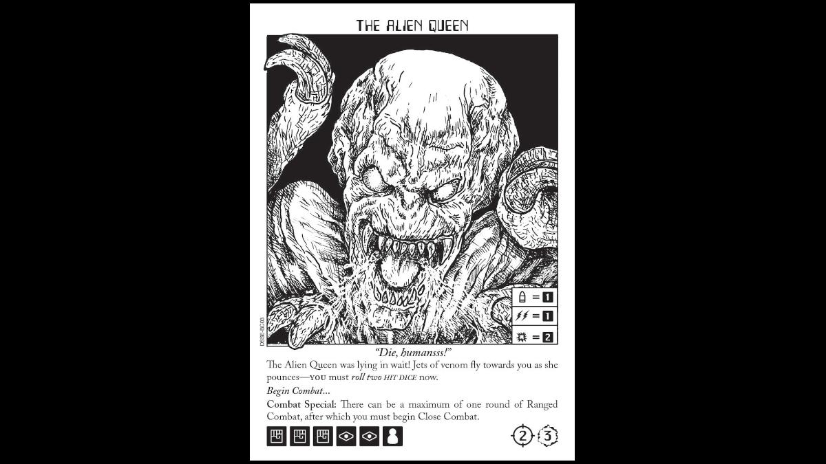 Escape the Dark Sector Boss Card Alien Queen