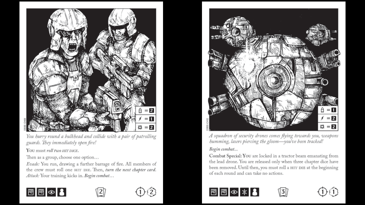 Escape the Dark Sector Chapter Cards Guards and Drones
