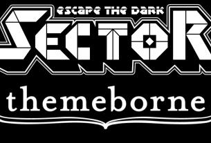 Escape the Dark Sector and Themeborne logos