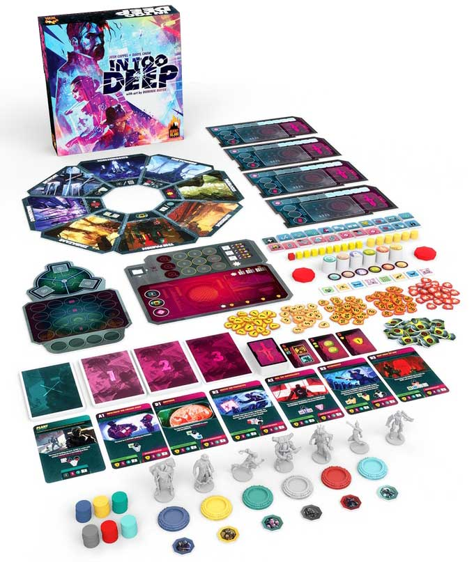 In Too Deep components