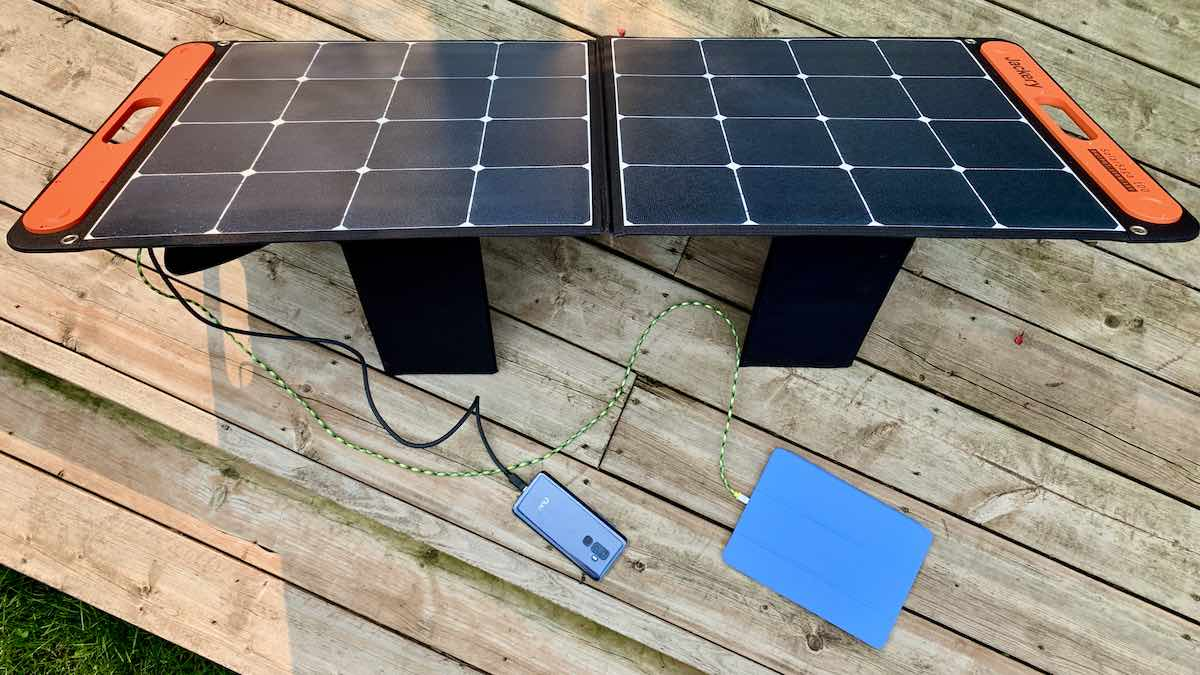 Jackery Solar Saga 100 solar panel review