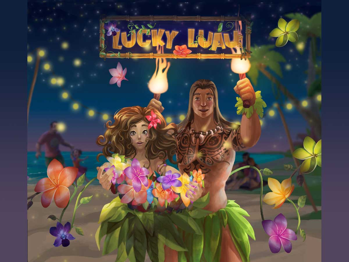 Lucky Luau cover