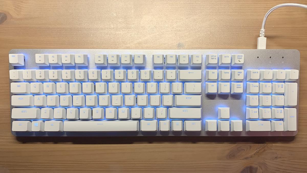 GeekDad Review: Razer Pro Type Wireless Mechanical Keyboard - GeekDad