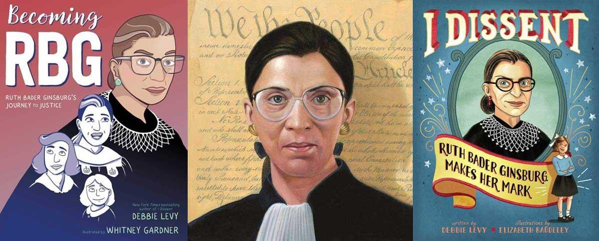 Ruth Bader Ginsburg books