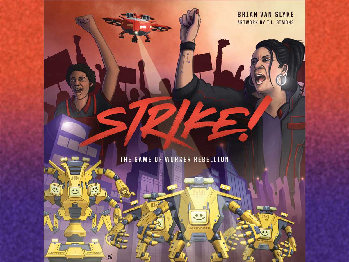 Strike! box cover
