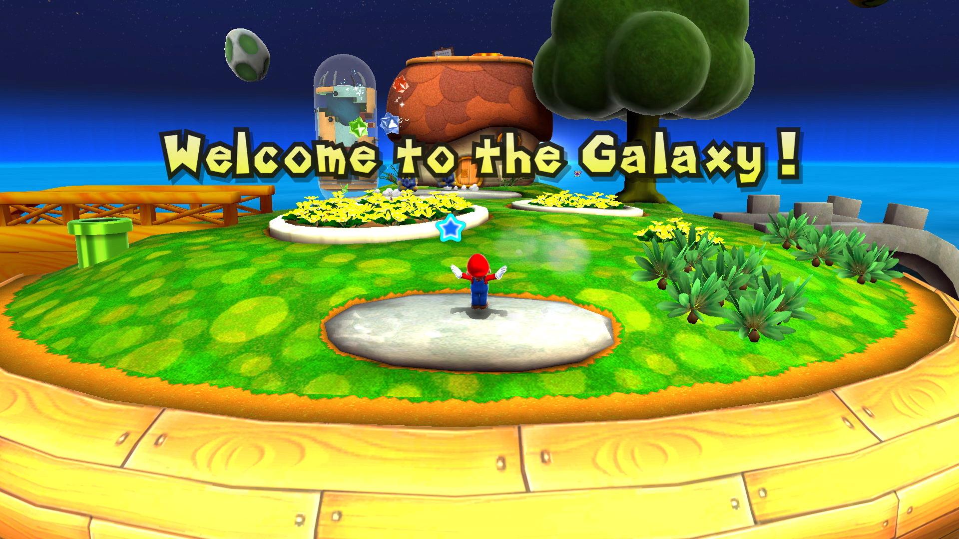 Super Mario Galaxy hub