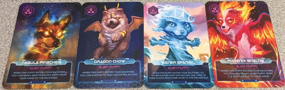 alien puppy cards