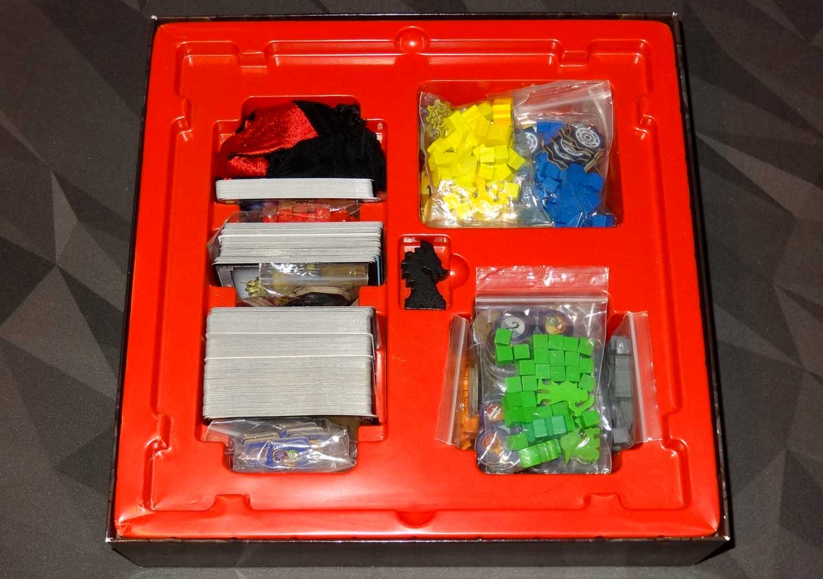Clank box with components.