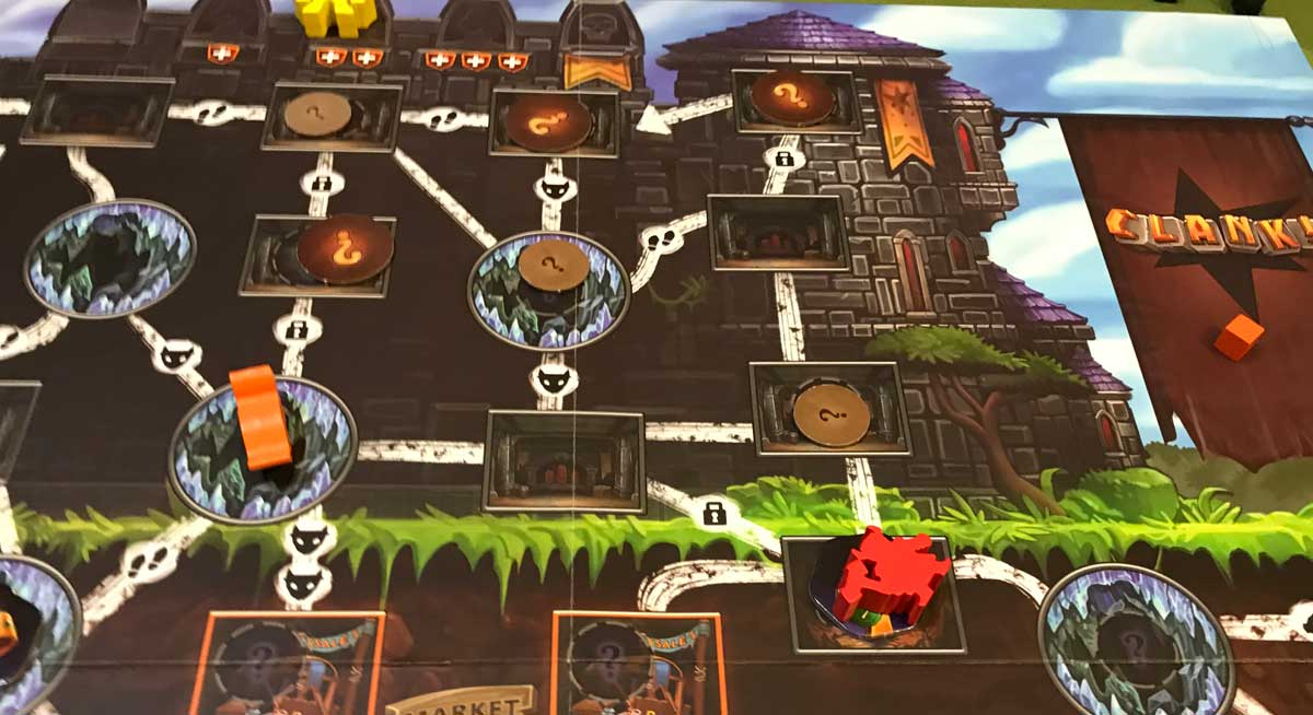 Clank! Adventuring Party near end game