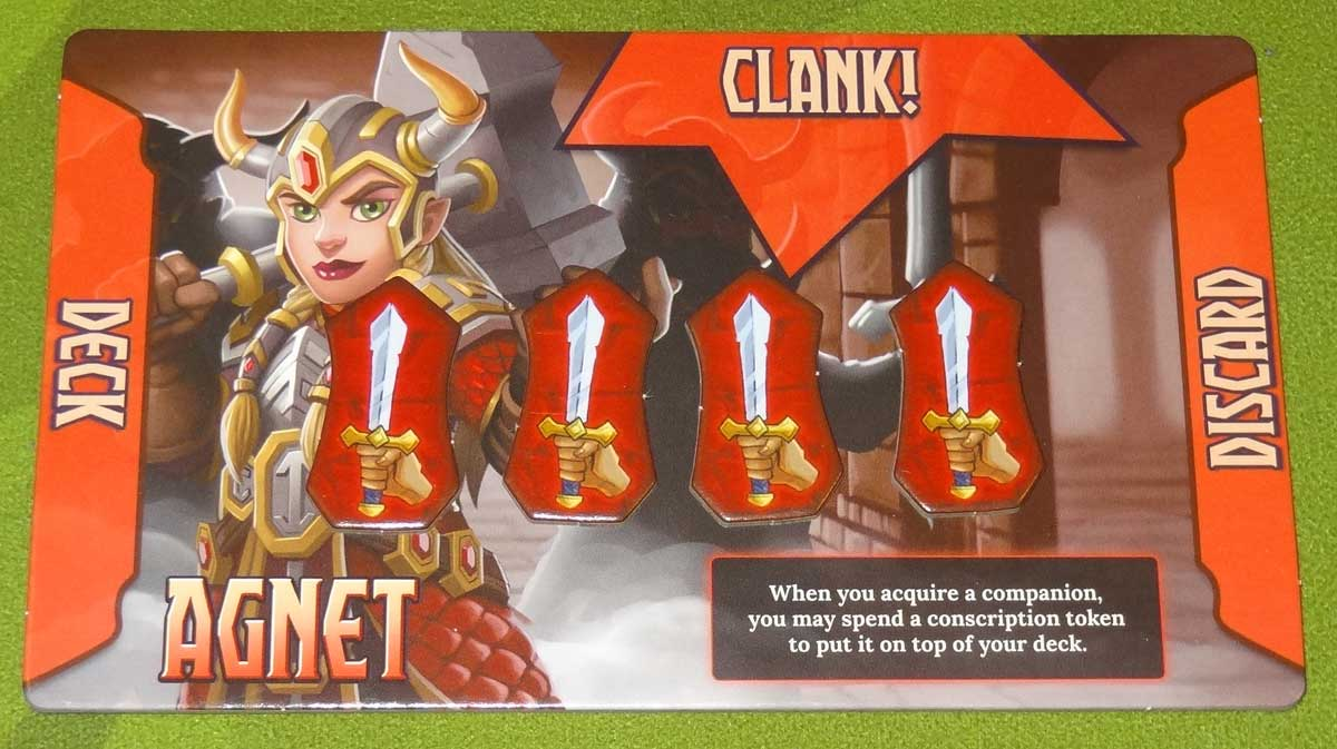 Clank! Adventuring Party Agnet