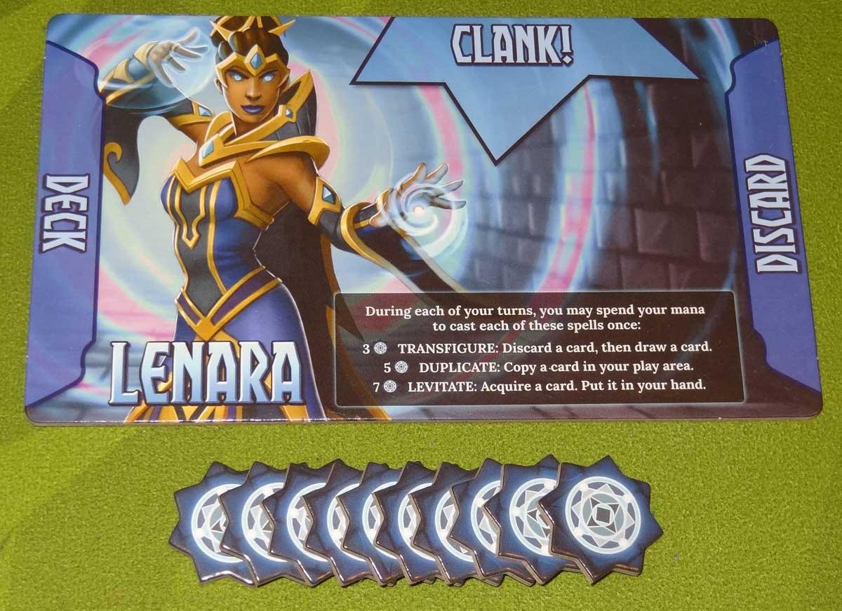 Clank! Adventuring Party Lenara
