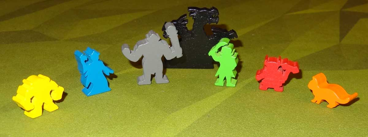 Clank! Adventuring Party meeples