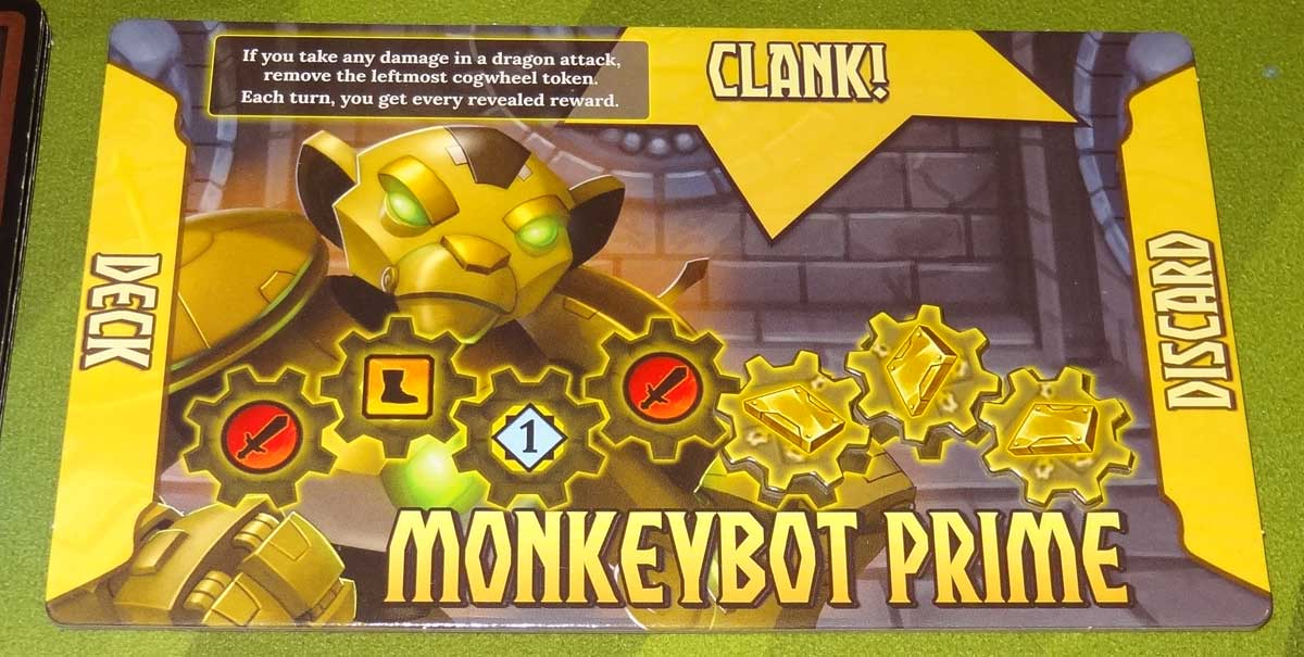 Clank! Adventuring Party Monkeybot Prime