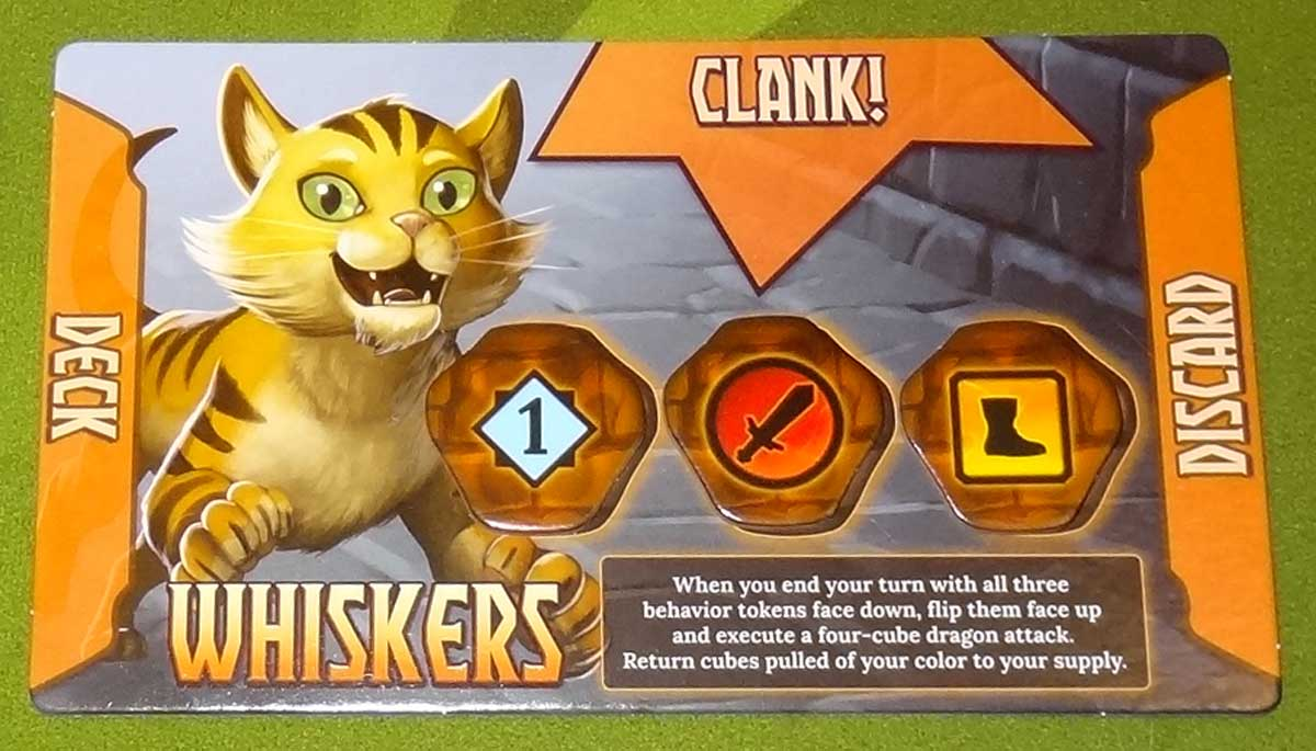 Clank! Adventuring Party Whiskers