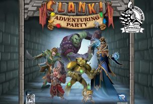 Clank! Adventuring Party box cover