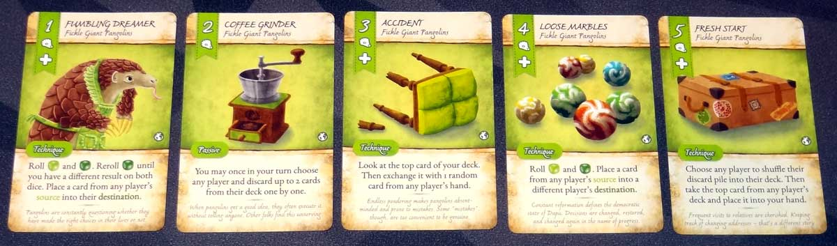 Dale of Merchants Collection Pangolin cards