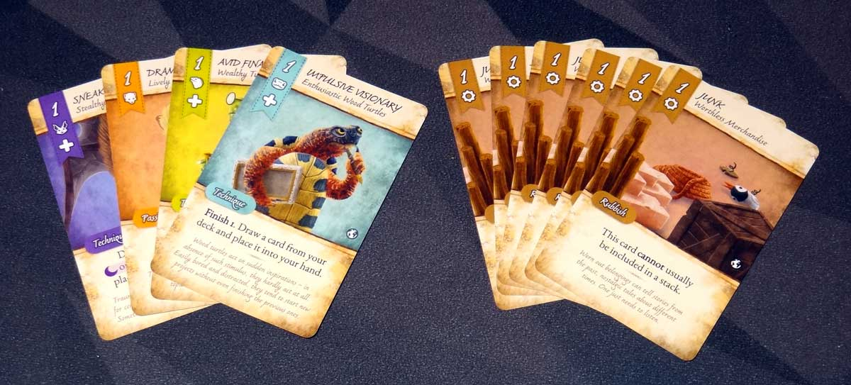 Dale of Merchants Collection starting deck