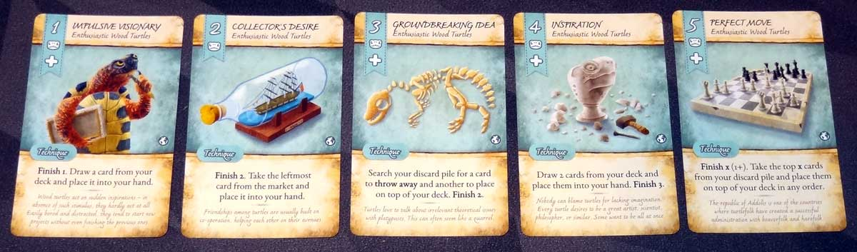 Dale of Merchants Collection Turtle Cards