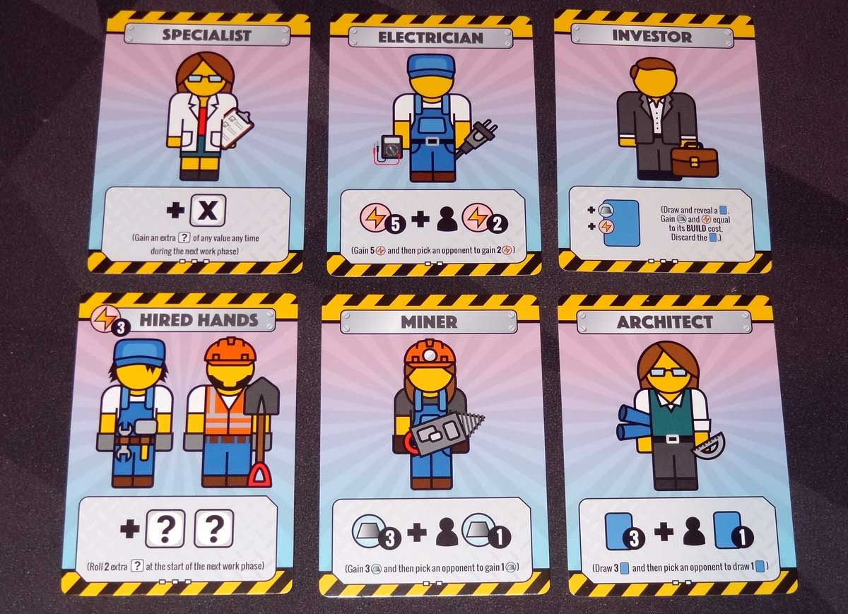 Fantastic Factories contractor cards