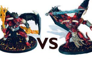 Geekdad paints demon vs demon