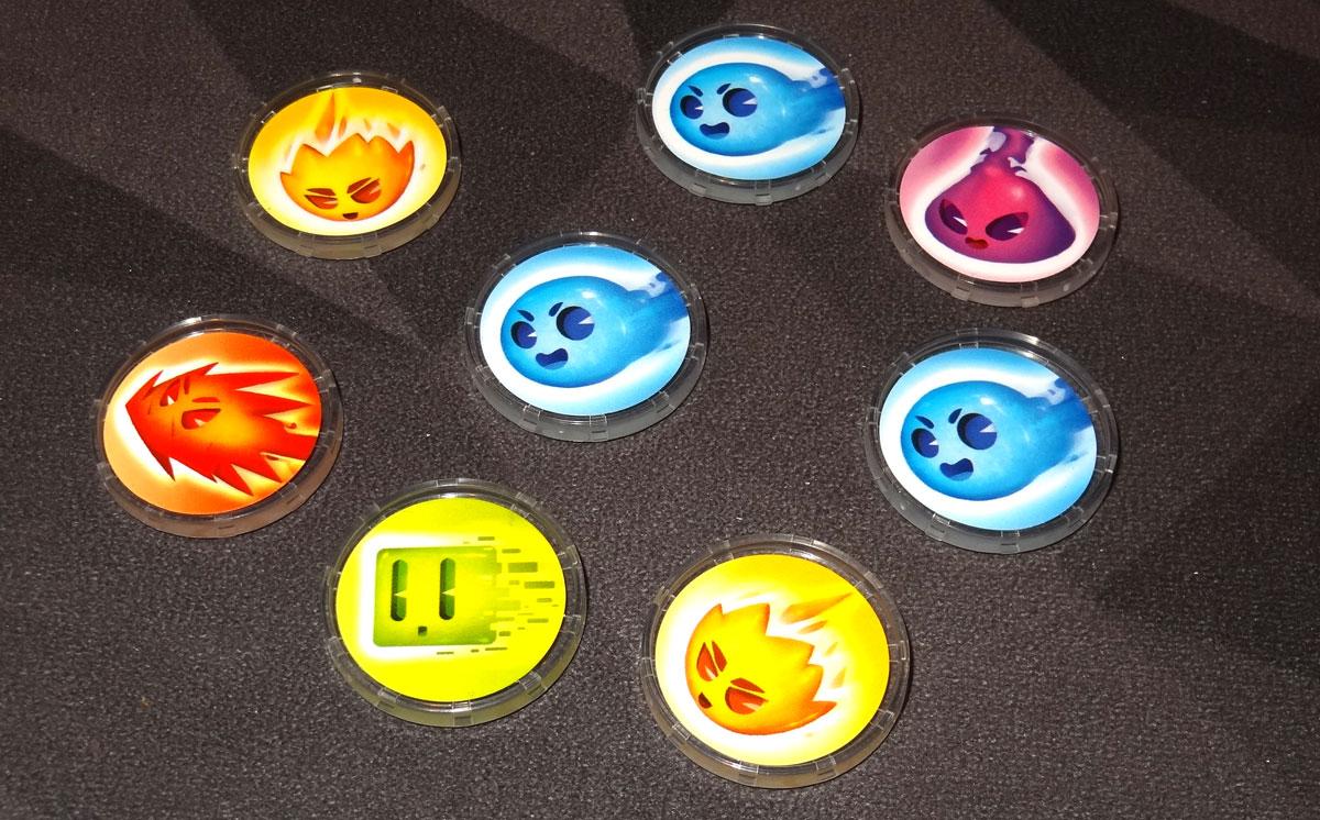 Flash 8 electron discs