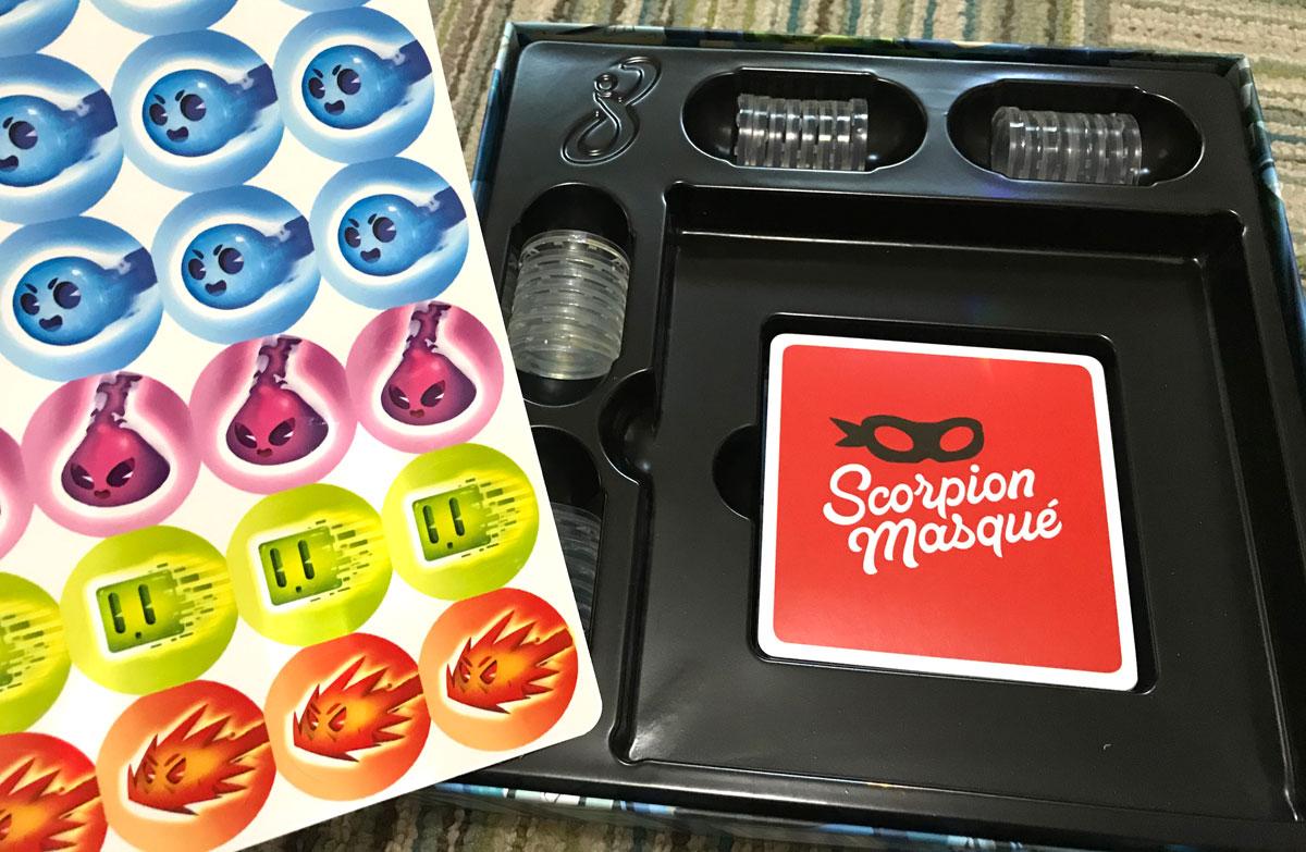 Flash 8 sticker sheet and box