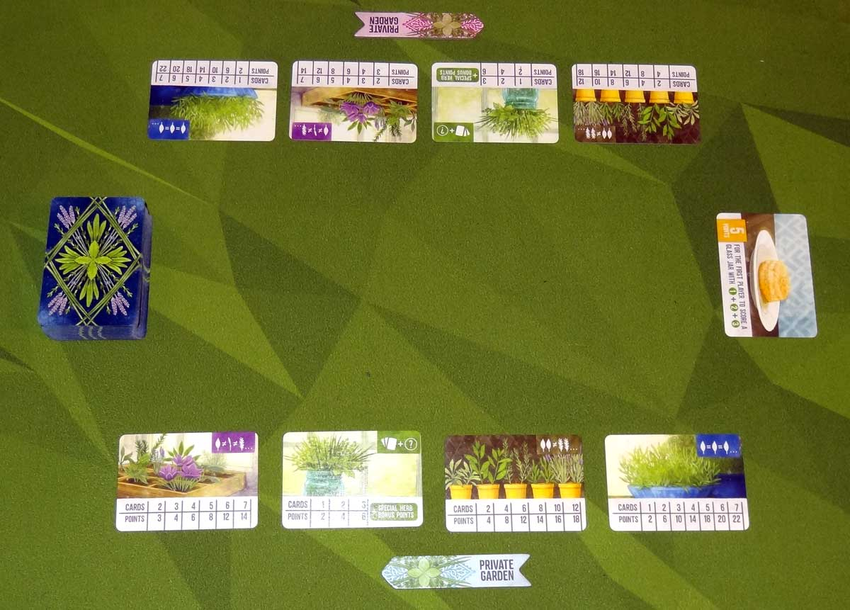 Herbaceous Pocket 2-player setup
