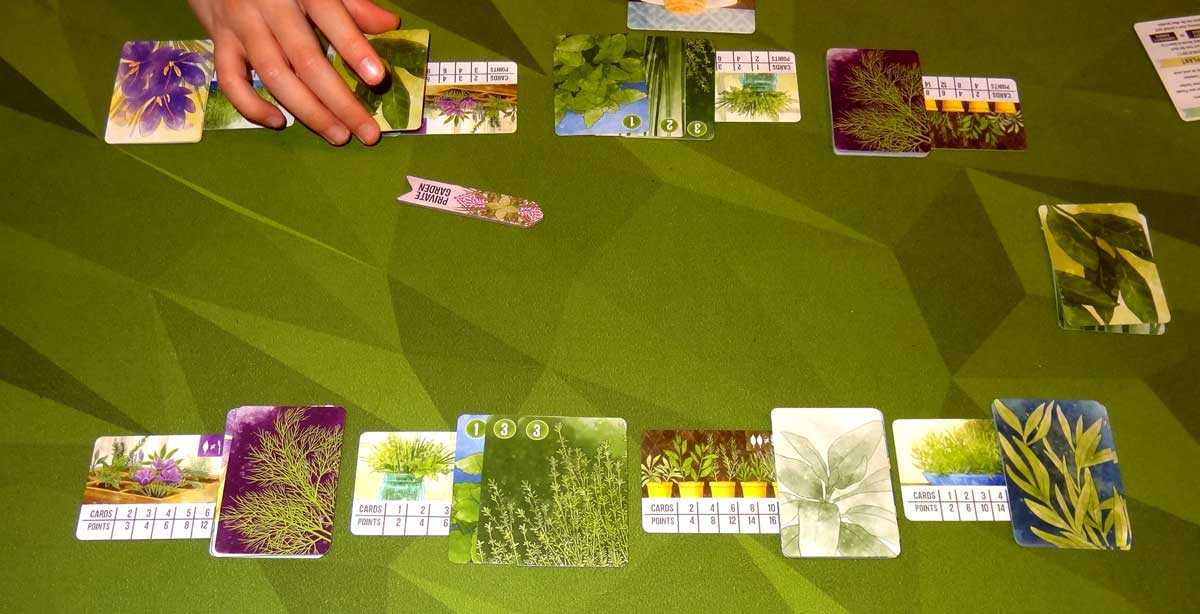 Herbaceous Pocket end game scoring