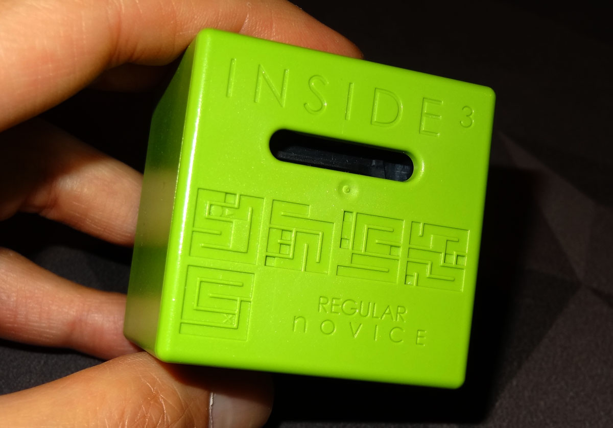 Regular Novice Inside3 cube