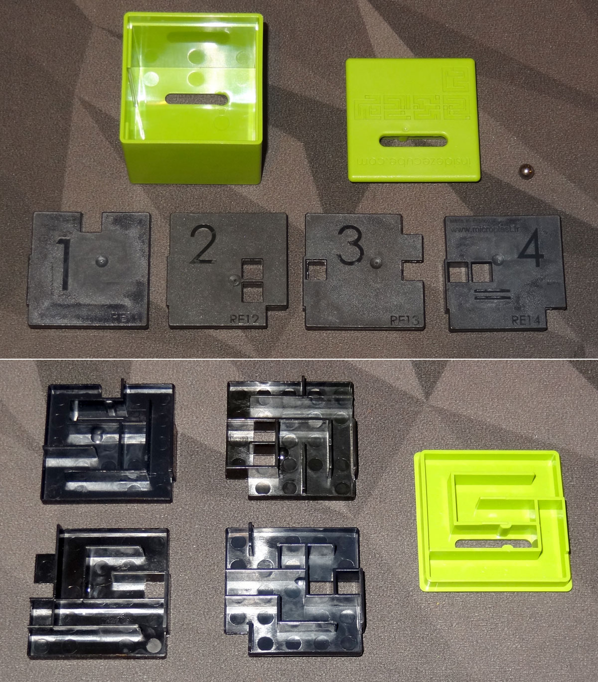 Inside Ze Cube - Regular Novice opened up
